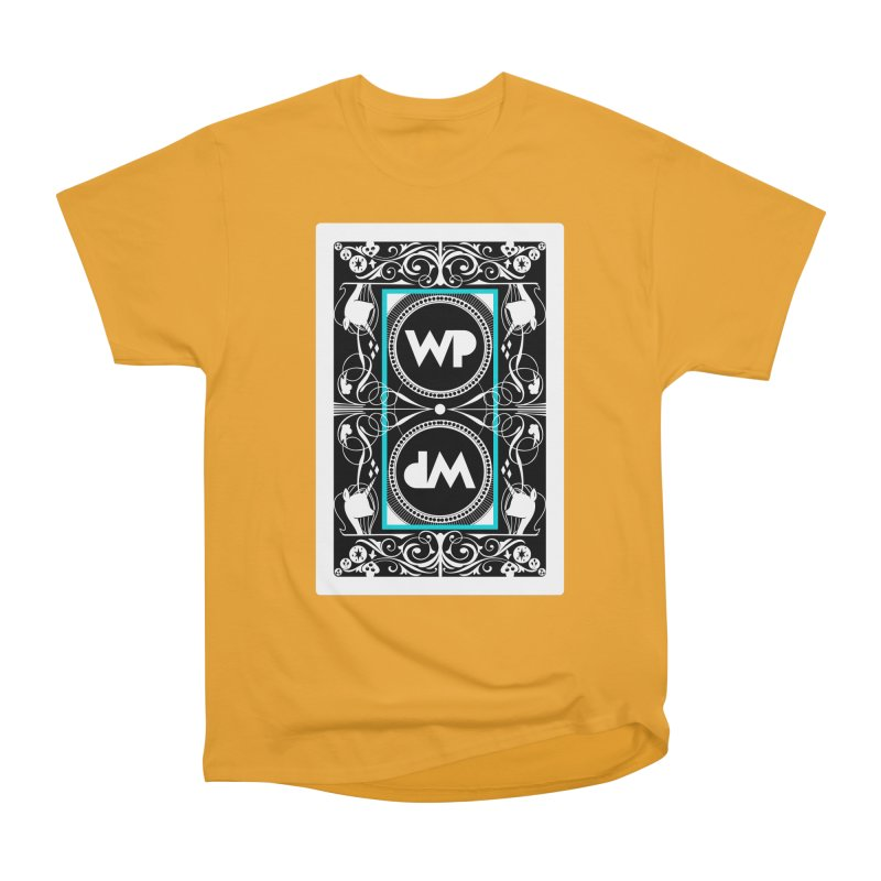 WatchPony Playing Cards Men's Heavyweight T-Shirt by WatchPony Clothing Collection