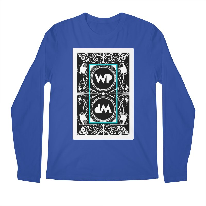 WatchPony Playing Cards Men's Regular Longsleeve T-Shirt by WatchPony Clothing Collection
