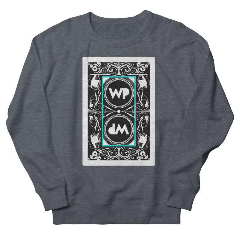 WatchPony Playing Cards Women's French Terry Sweatshirt by WatchPony Clothing Collection
