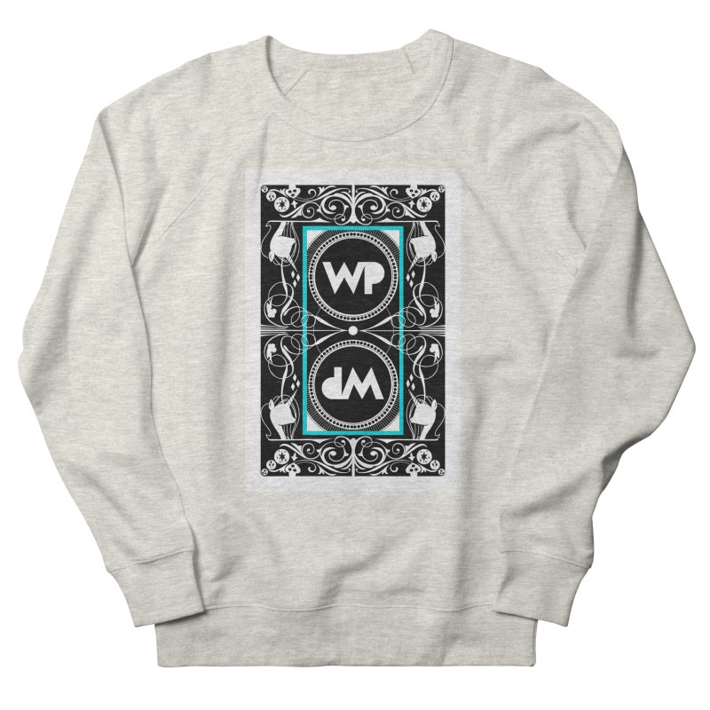 WatchPony Playing Cards Men's French Terry Sweatshirt by WatchPony Clothing Collection