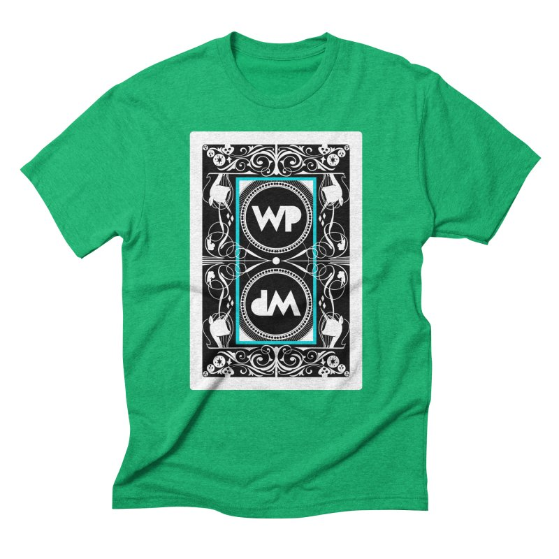 WatchPony Playing Cards Men's Triblend T-Shirt by WatchPony Clothing Collection