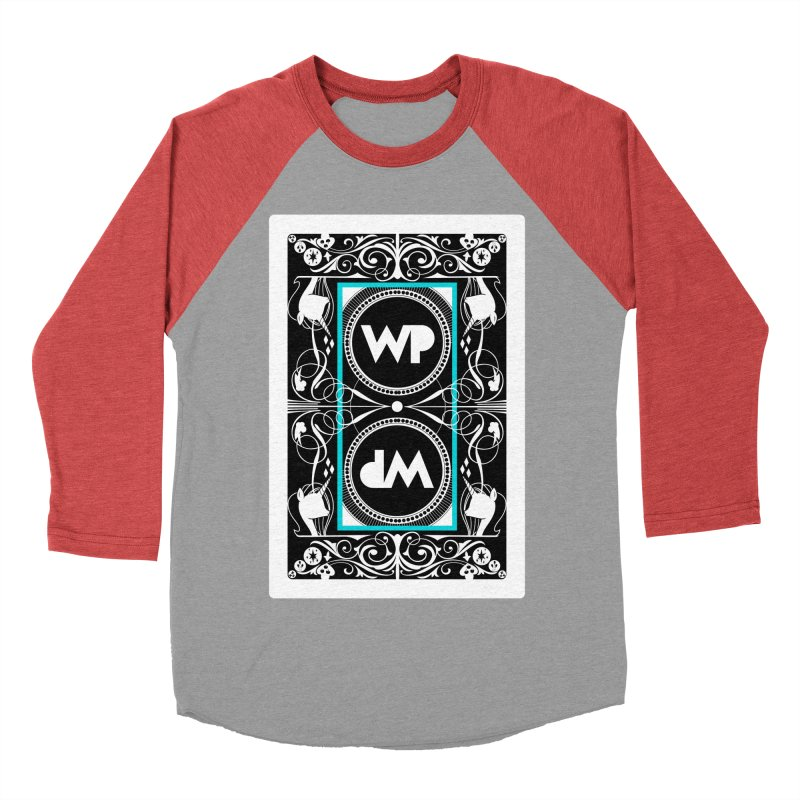 WatchPony Playing Cards Women's Baseball Triblend Longsleeve T-Shirt by WatchPony Clothing Collection