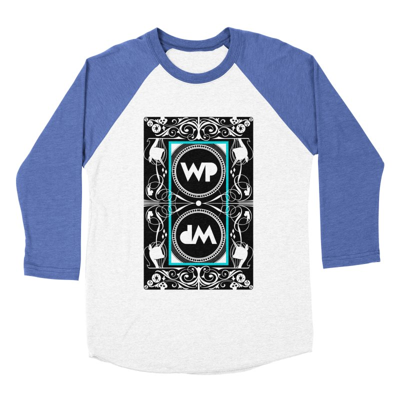 WatchPony Playing Cards Men's Baseball Triblend Longsleeve T-Shirt by WatchPony Clothing Collection