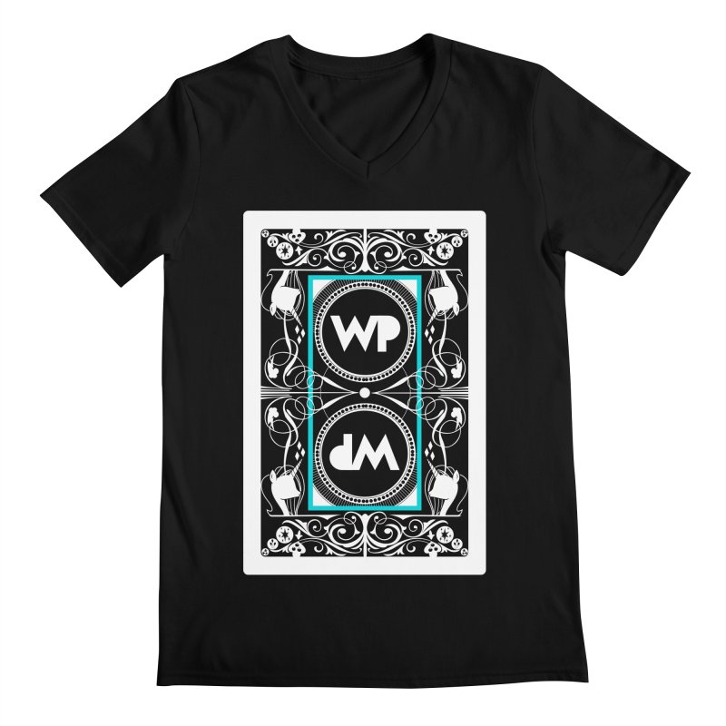 WatchPony Playing Cards Men's Regular V-Neck by WatchPony Clothing Collection
