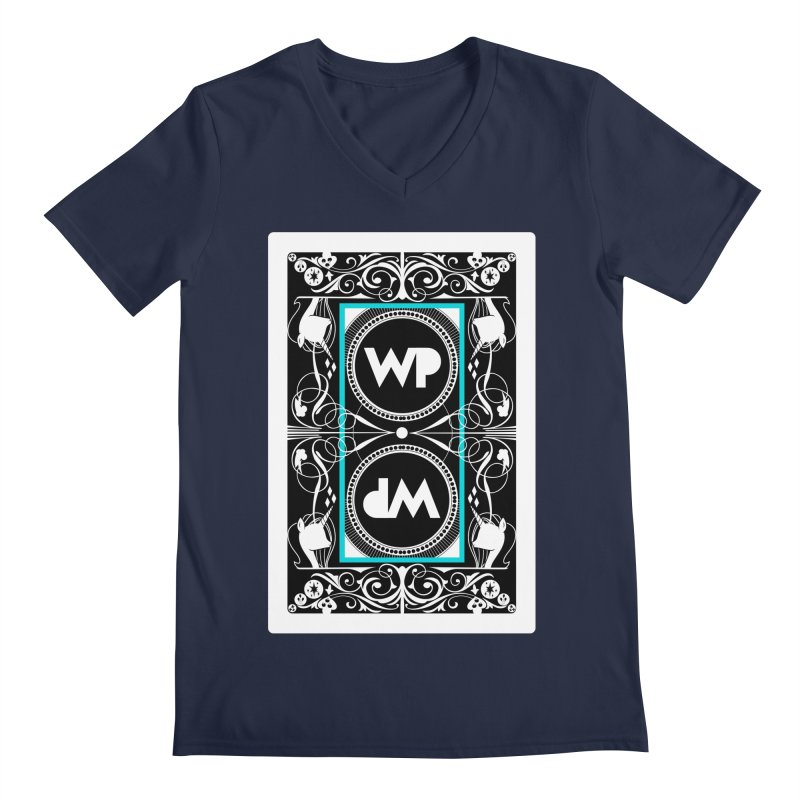 WatchPony Playing Cards Men's V-Neck by WatchPony Clothing Collection