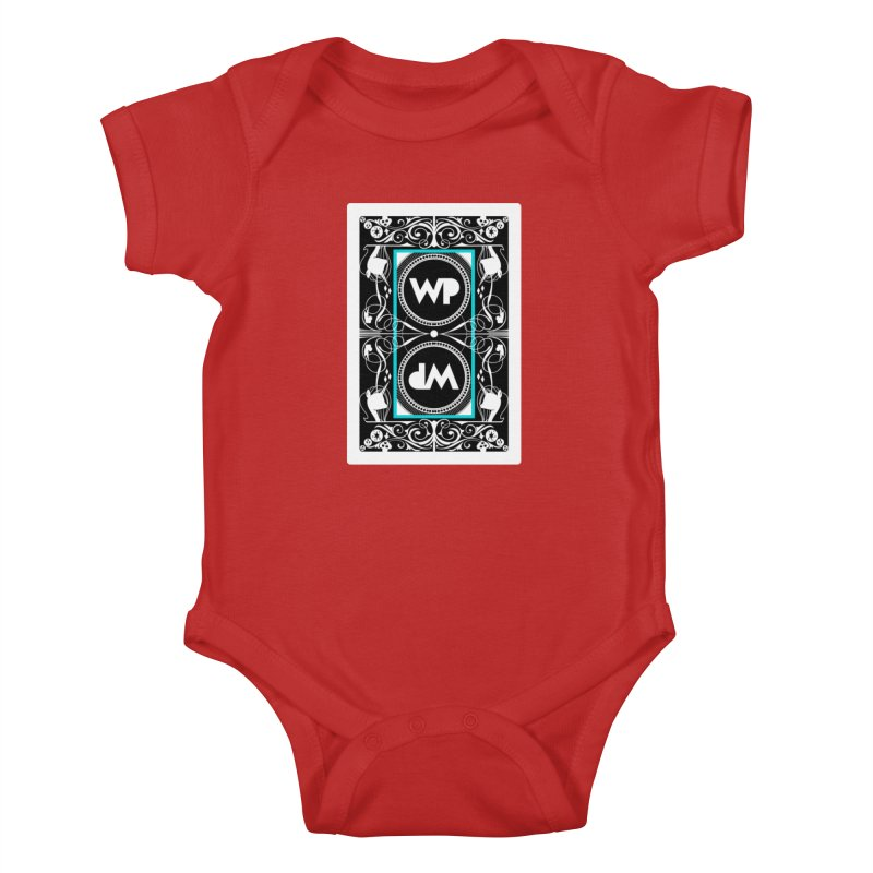 WatchPony Playing Cards Kids Baby Bodysuit by WatchPony Clothing Collection