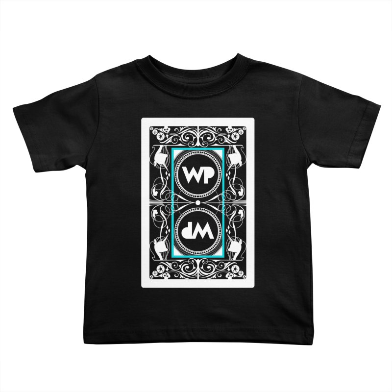 WatchPony Playing Cards Kids Toddler T-Shirt by WatchPony Clothing Collection