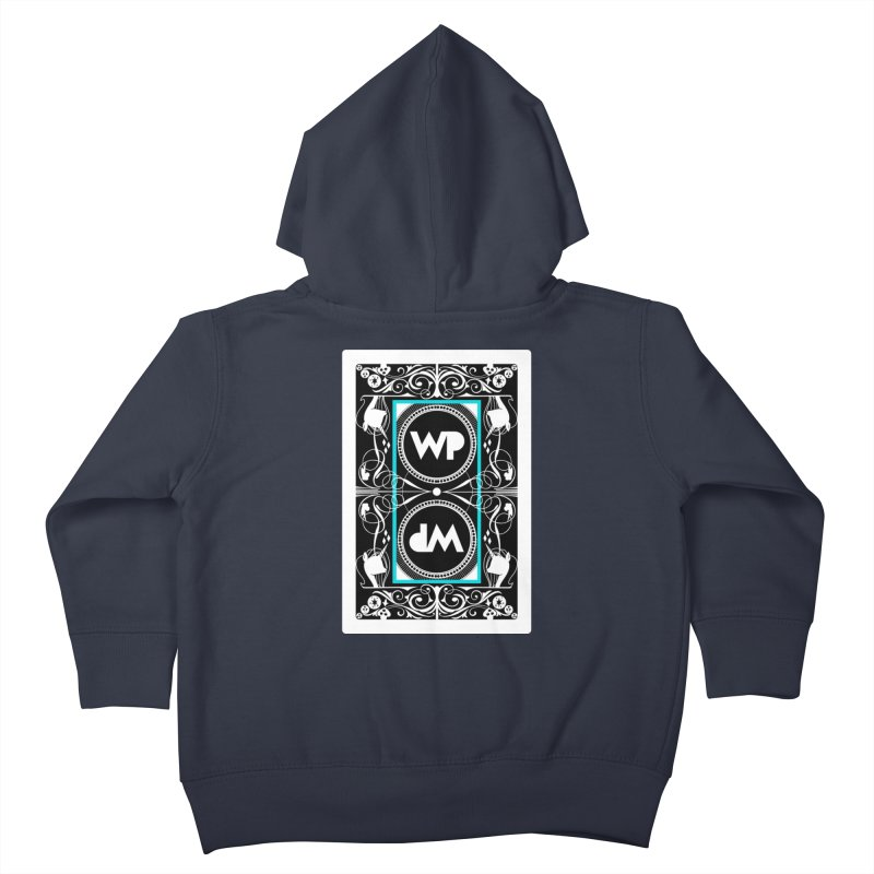 WatchPony Playing Cards Kids Toddler Zip-Up Hoody by WatchPony Clothing Collection