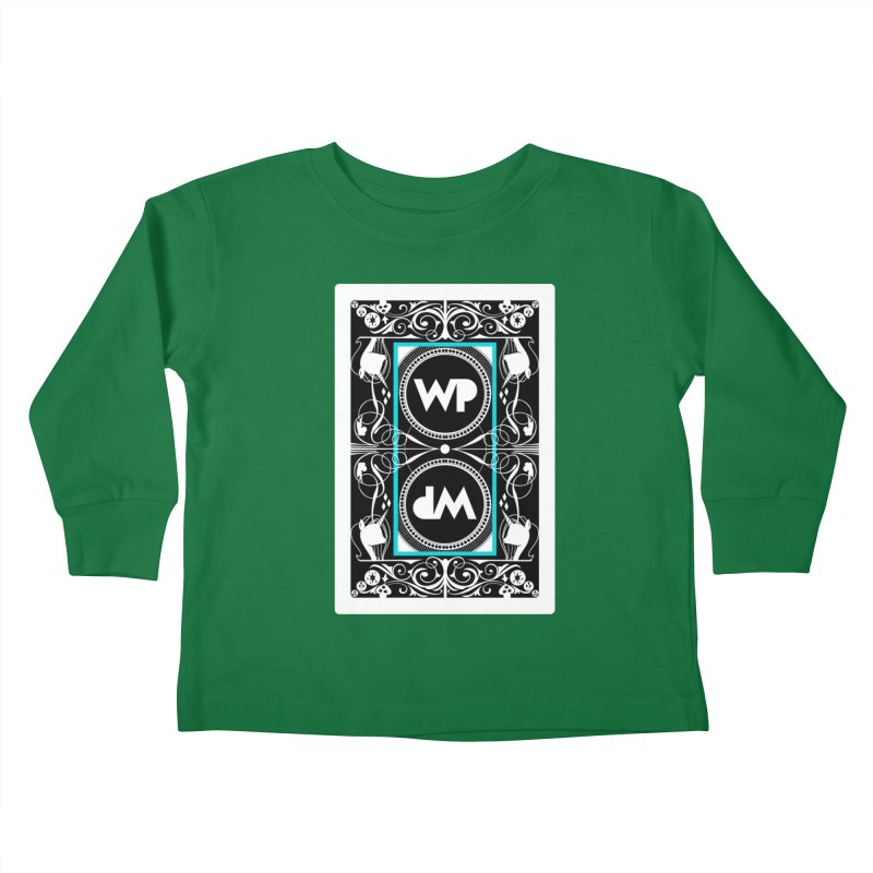 WatchPony Playing Cards Kids Toddler Longsleeve T-Shirt by WatchPony Clothing Collection