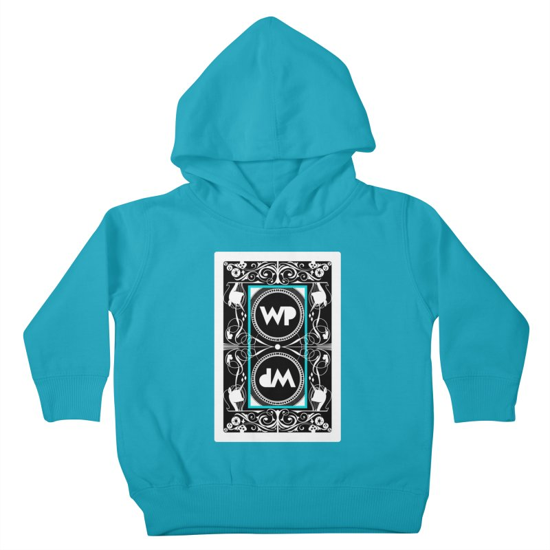 WatchPony Playing Cards Kids Toddler Pullover Hoody by WatchPony Clothing Collection