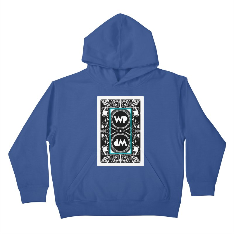 WatchPony Playing Cards Kids Pullover Hoody by WatchPony Clothing Collection