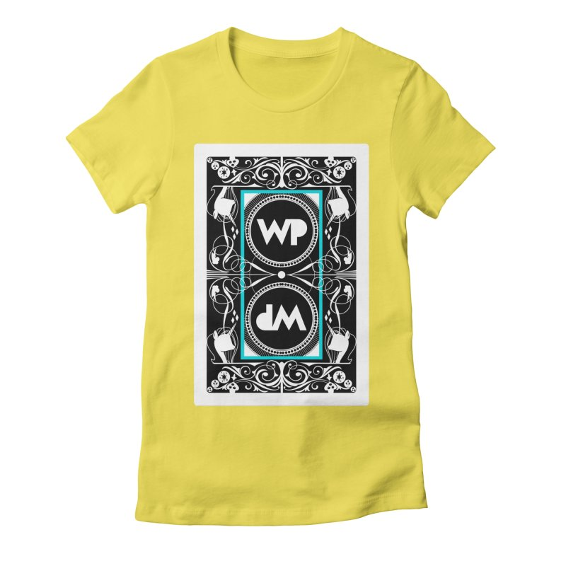 WatchPony Playing Cards Women's Fitted T-Shirt by WatchPony Clothing Collection