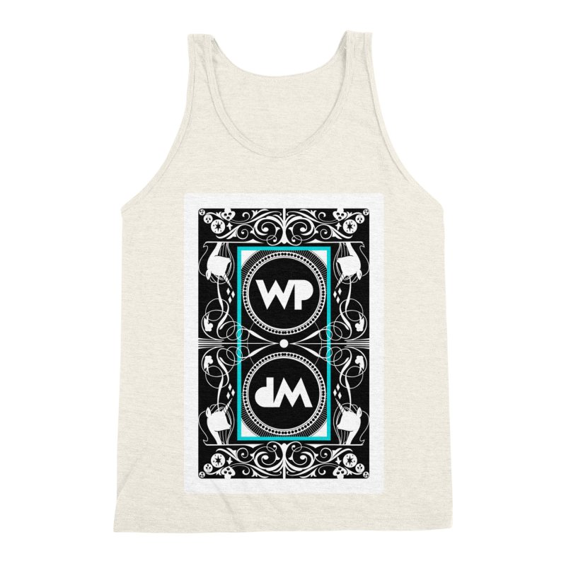 WatchPony Playing Cards Men's Triblend Tank by WatchPony Clothing Collection