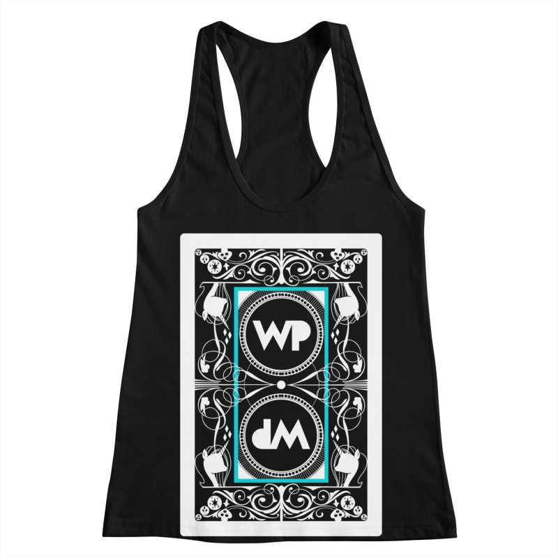 WatchPony Playing Cards Women's Racerback Tank by WatchPony Clothing Collection