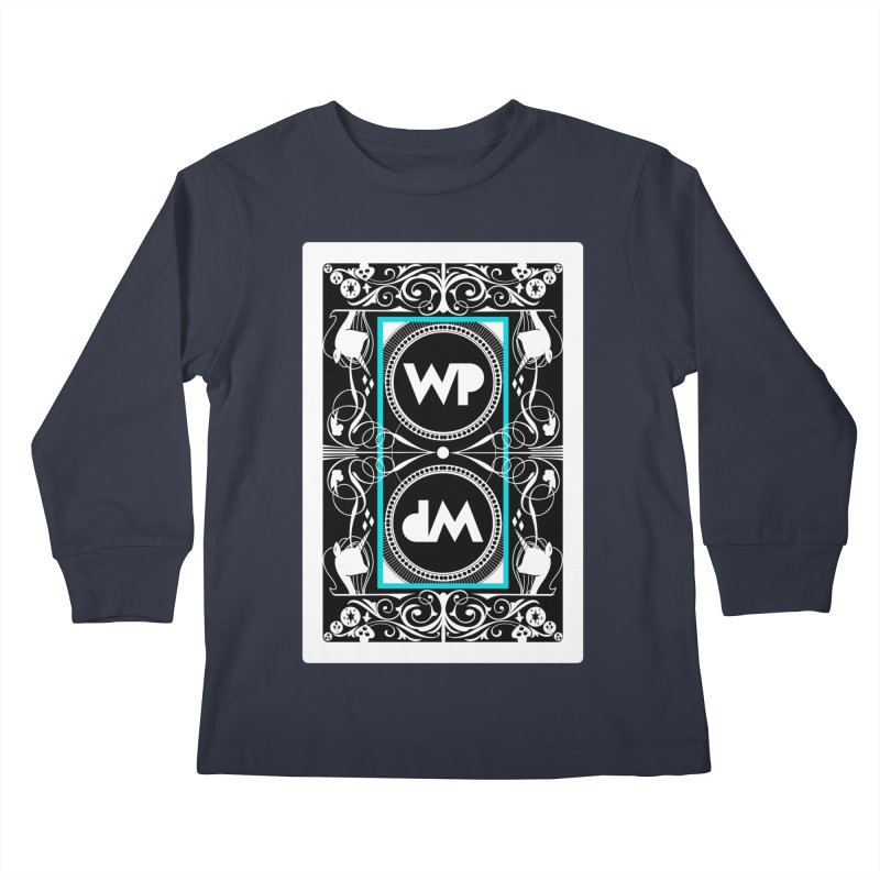 WatchPony Playing Cards Kids Longsleeve T-Shirt by WatchPony Clothing Collection
