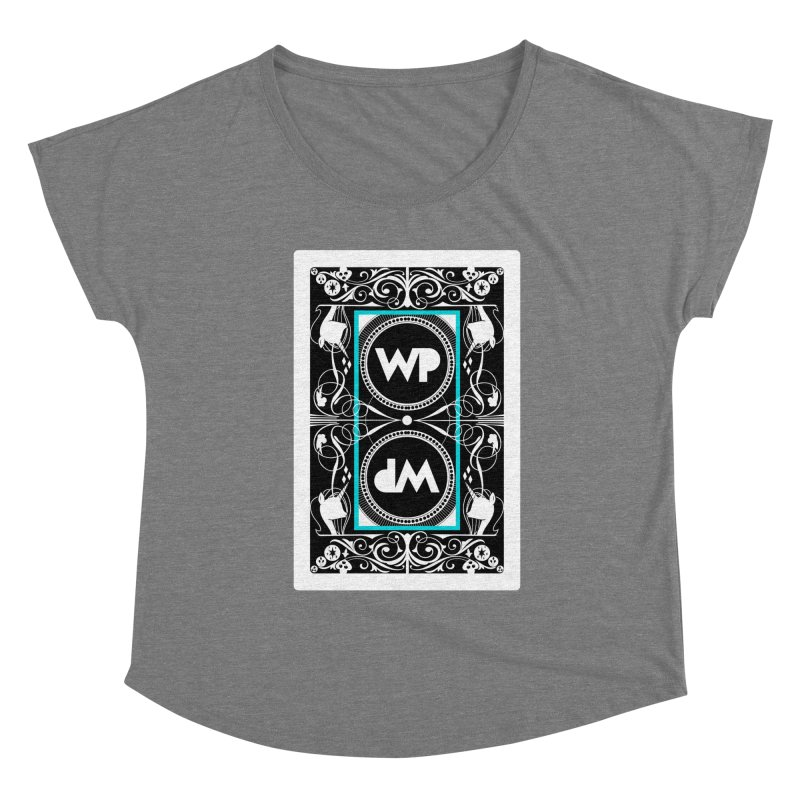 WatchPony Playing Cards Women's Scoop Neck by WatchPony Clothing Collection