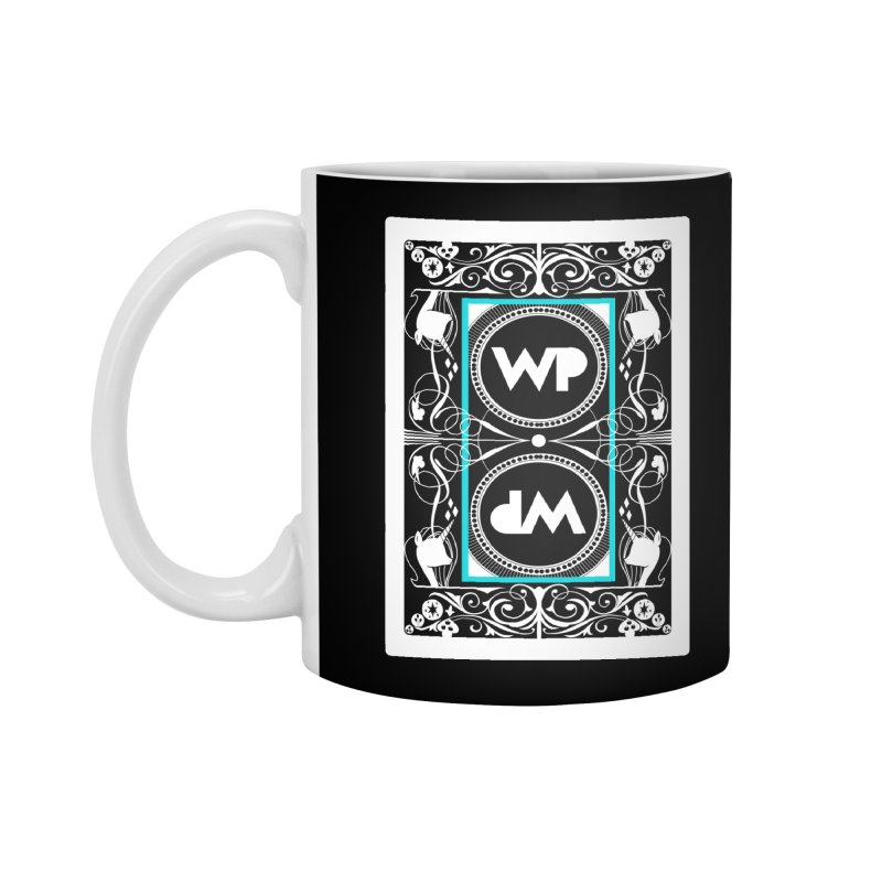WatchPony Playing Cards Accessories Standard Mug by WatchPony Clothing Collection