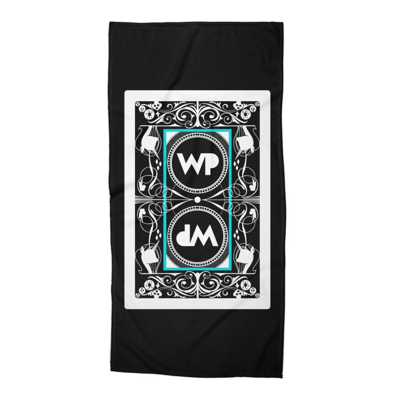 WatchPony Playing Cards Accessories Beach Towel by WatchPony Clothing Collection