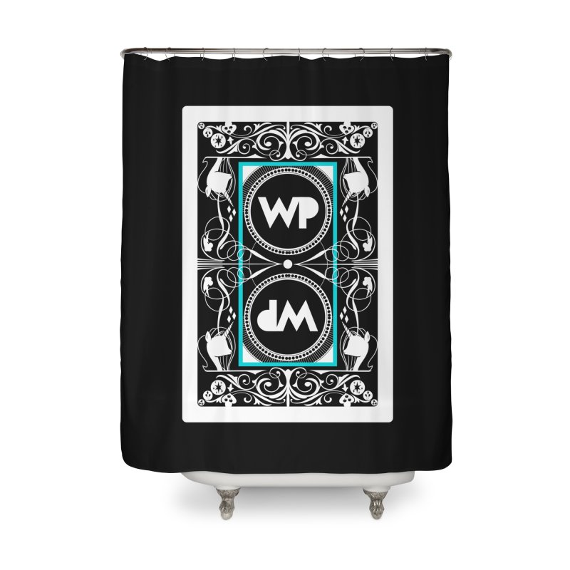 WatchPony Playing Cards Home Shower Curtain by WatchPony Clothing Collection