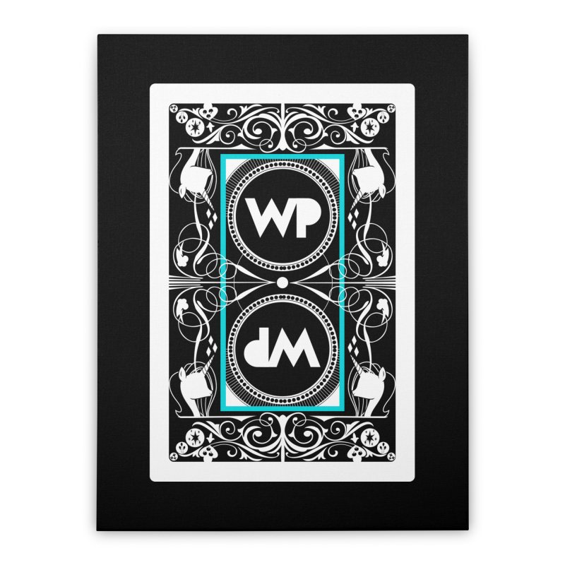 WatchPony Playing Cards Home Stretched Canvas by WatchPony Clothing Collection
