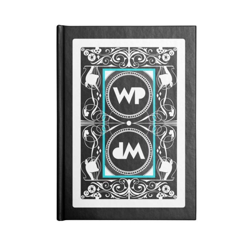 WatchPony Playing Cards Accessories Blank Journal Notebook by WatchPony Clothing Collection