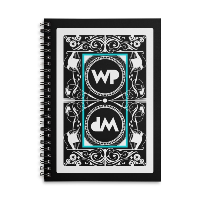 WatchPony Playing Cards Accessories Lined Spiral Notebook by WatchPony Clothing Collection