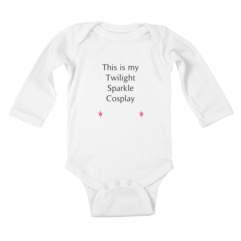 Twilight Cosplay Kids Baby Longsleeve Bodysuit by WatchPony Clothing Collection