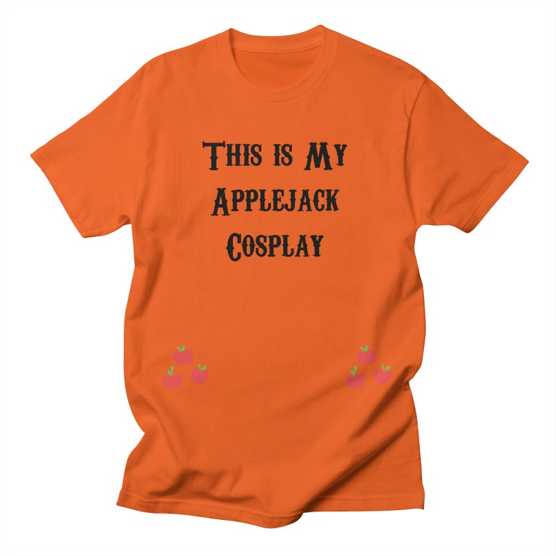 Applejack Cosplay Men's T-Shirt by WatchPony Clothing Collection