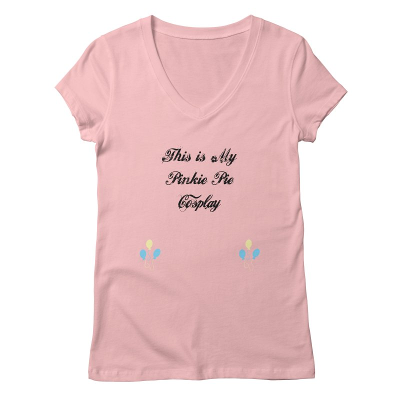 Pinkie Pie Cosplay Women's V-Neck by WatchPony Clothing Collection