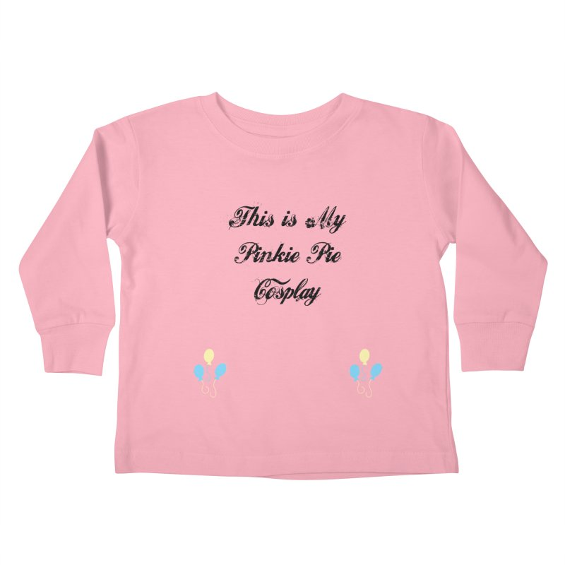Pinkie Pie Cosplay Kids Toddler Longsleeve T-Shirt by WatchPony Clothing Collection