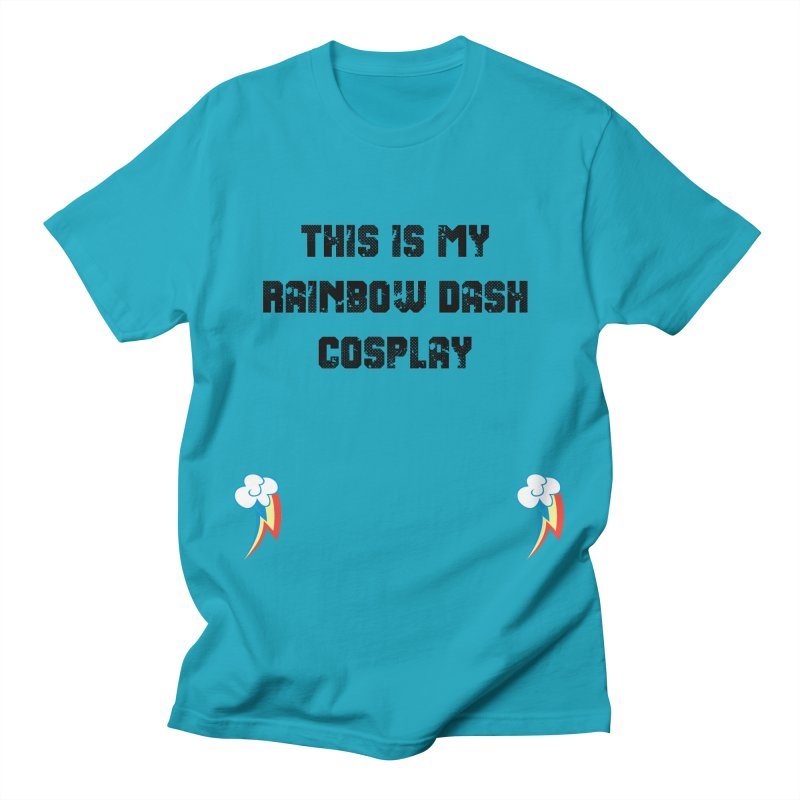 Rainbow Dash Cosplay Men's T-Shirt by WatchPony Clothing Collection