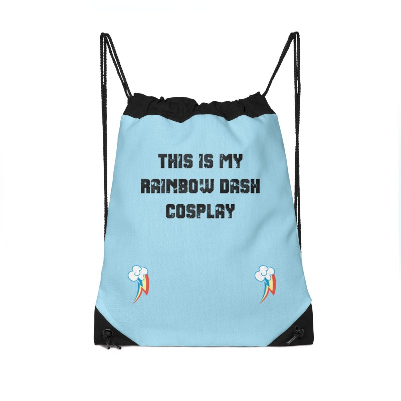 Rainbow Dash Cosplay Accessories Bag by WatchPony Clothing Collection