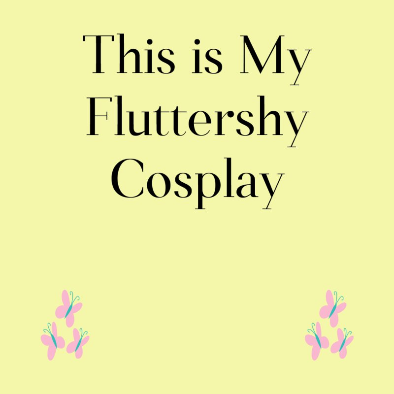 Fluttershy Cosplay Women's T-Shirt by WatchPony Clothing Collection