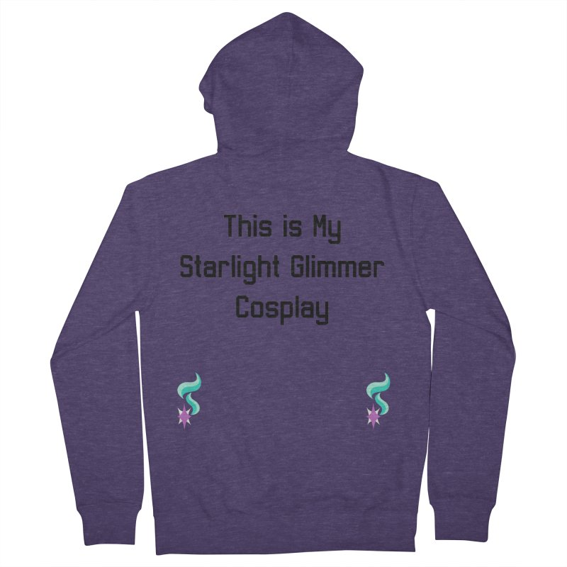 Starlight Glimmer Cosplay Men's Zip-Up Hoody by WatchPony Clothing Collection