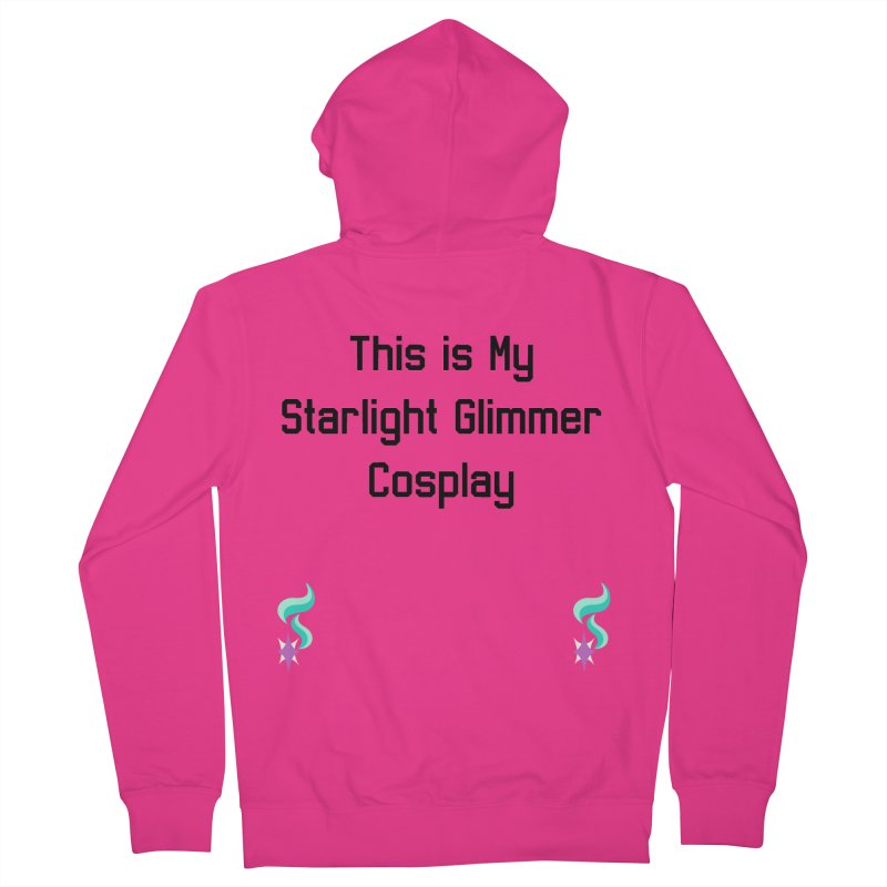 Starlight Glimmer Cosplay Men's French Terry Zip-Up Hoody by WatchPony Clothing Collection