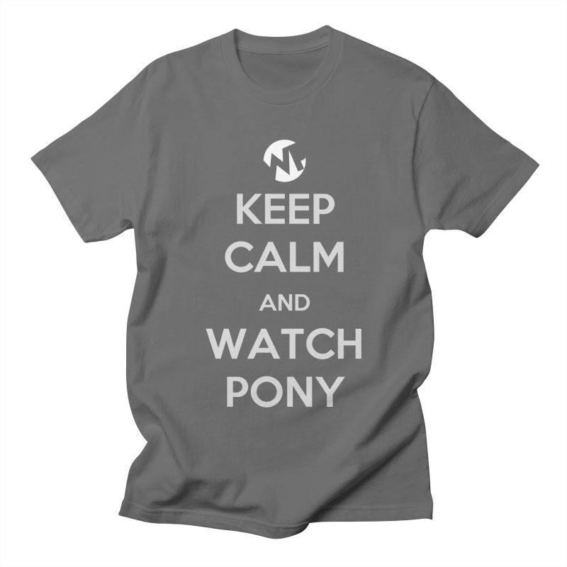 Keep Calm and WatchPony Men's T-Shirt by WatchPony Clothing Collection