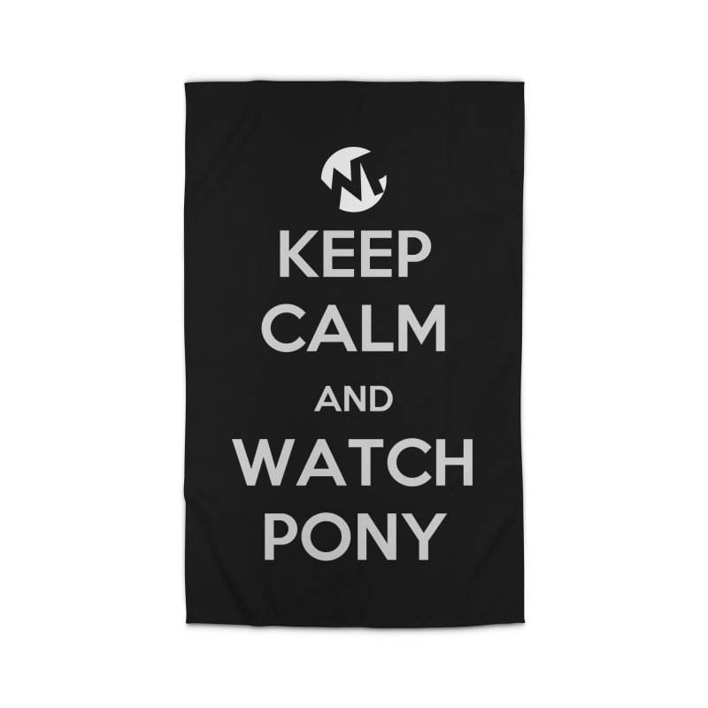 Keep Calm and WatchPony Home Rug by WatchPony Clothing Collection
