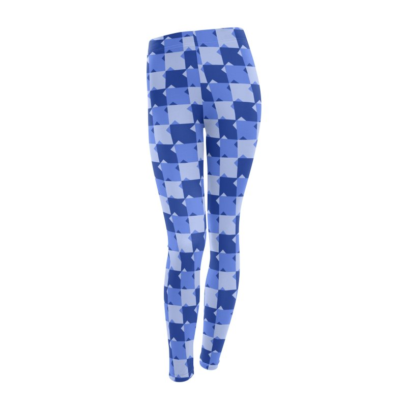 BLU Women's Leggings Bottoms by WatchPony Clothing Collection