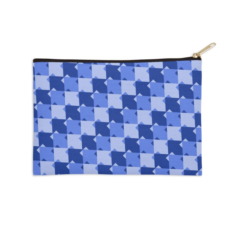 BLU Accessories Zip Pouch by WatchPony Clothing Collection
