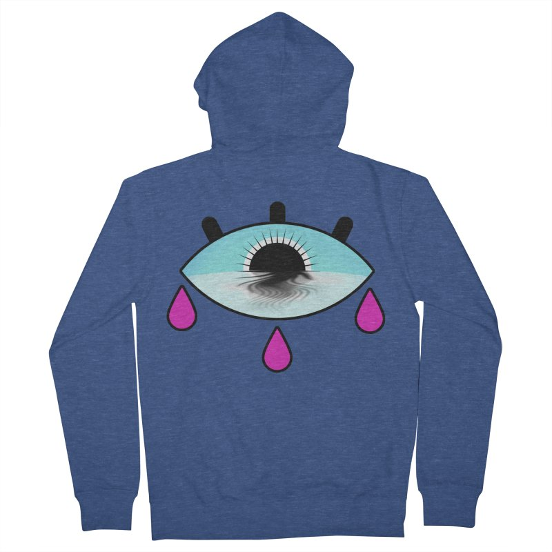 Third Eye Women's French Terry Zip-Up Hoody by WatchPony Clothing Collection