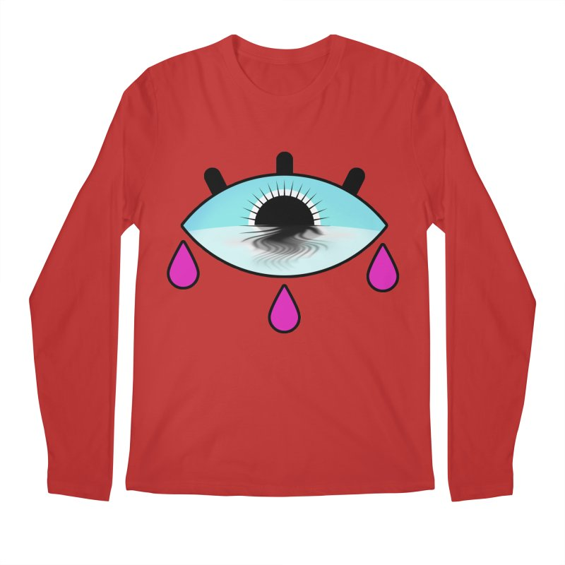 Third Eye Men's Regular Longsleeve T-Shirt by WatchPony Clothing Collection
