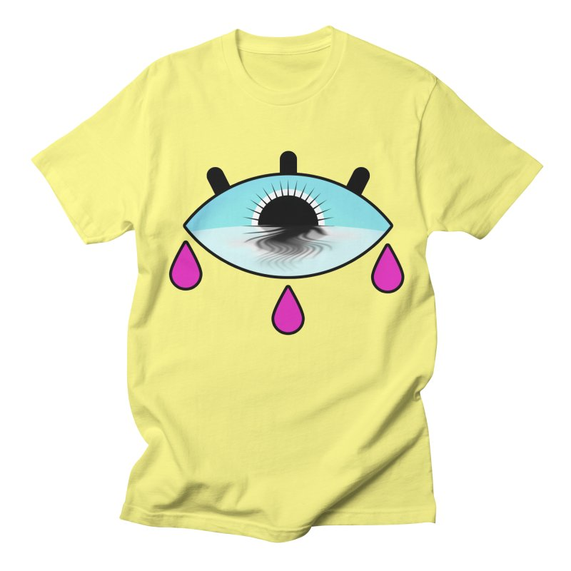 Third Eye Women's Regular Unisex T-Shirt by WatchPony Clothing Collection