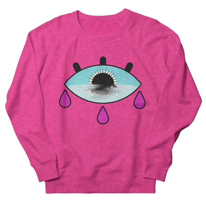 Third Eye Women's French Terry Sweatshirt by WatchPony Clothing Collection