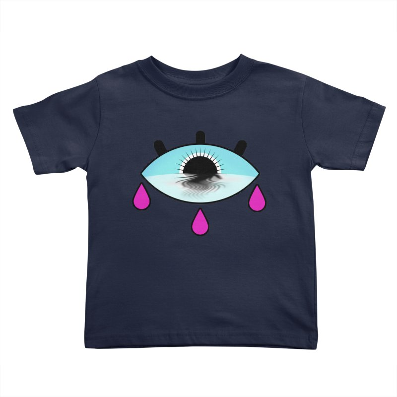 Third Eye Kids Toddler T-Shirt by WatchPony Clothing Collection