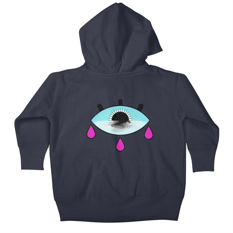 Third Eye Kids Baby Zip-Up Hoody by WatchPony Clothing Collection