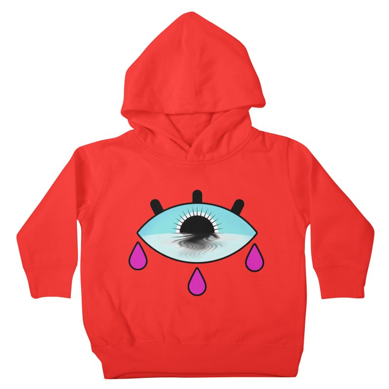 Third Eye Kids Toddler Pullover Hoody by WatchPony Clothing Collection