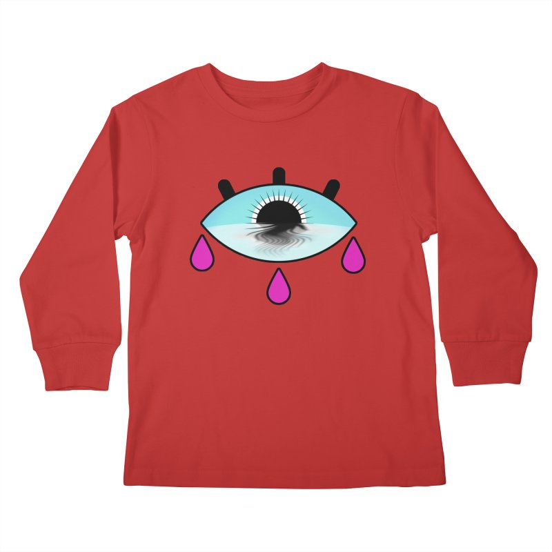 Third Eye Kids Longsleeve T-Shirt by WatchPony Clothing Collection