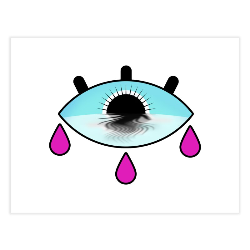 Third Eye Home Fine Art Print by WatchPony Clothing Collection