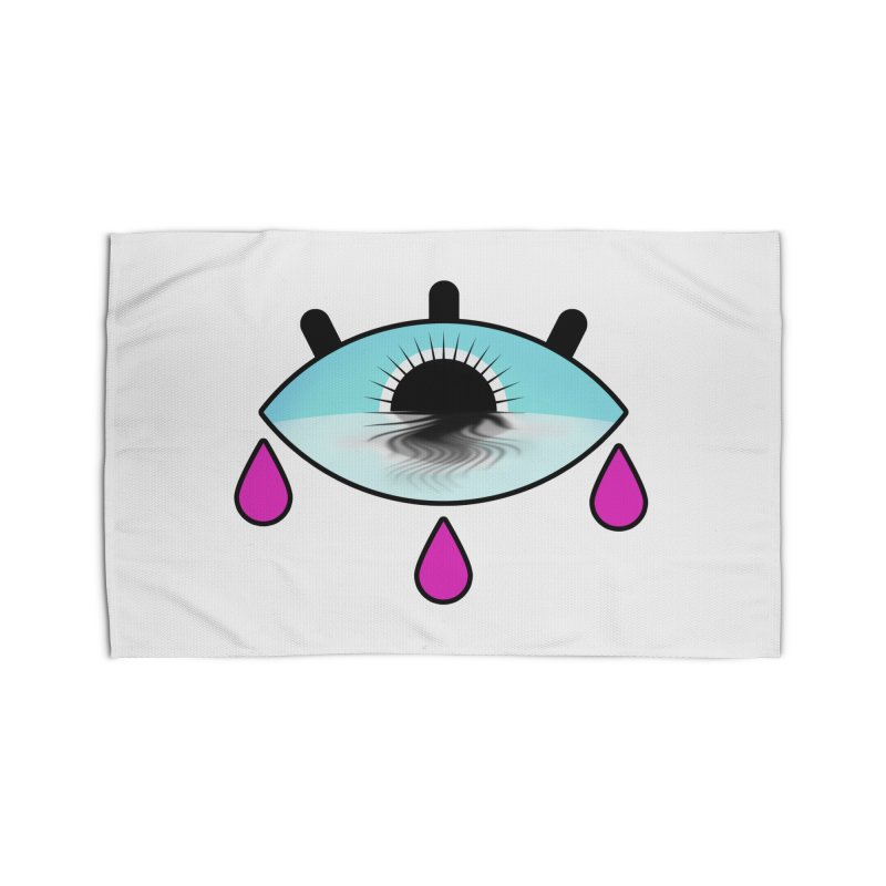 Third Eye Home Rug by WatchPony Clothing Collection