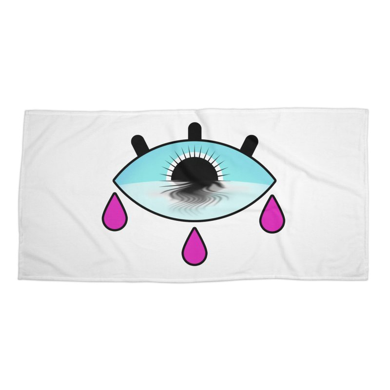 Third Eye Accessories Beach Towel by WatchPony Clothing Collection